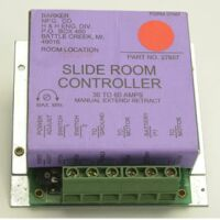 a wiring diagram for a barker slideout room controller relay graphic