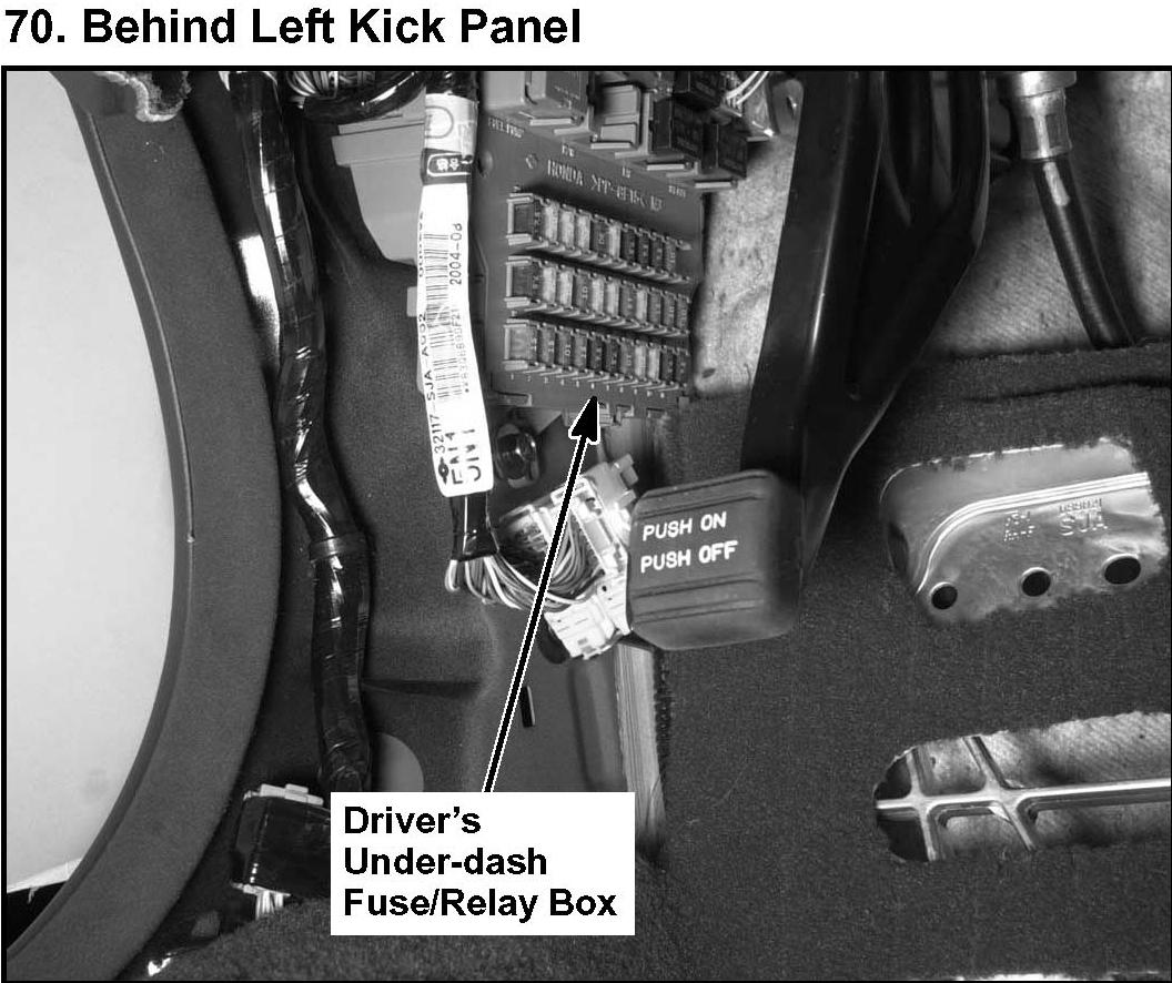 2005 acura rl left rear window windows work fuse box full size image
