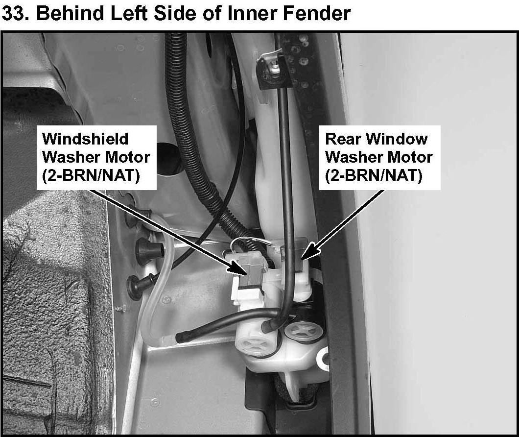 Ford Wiper Motor Wiring Diagram In Addition Ford Windshield Wiper