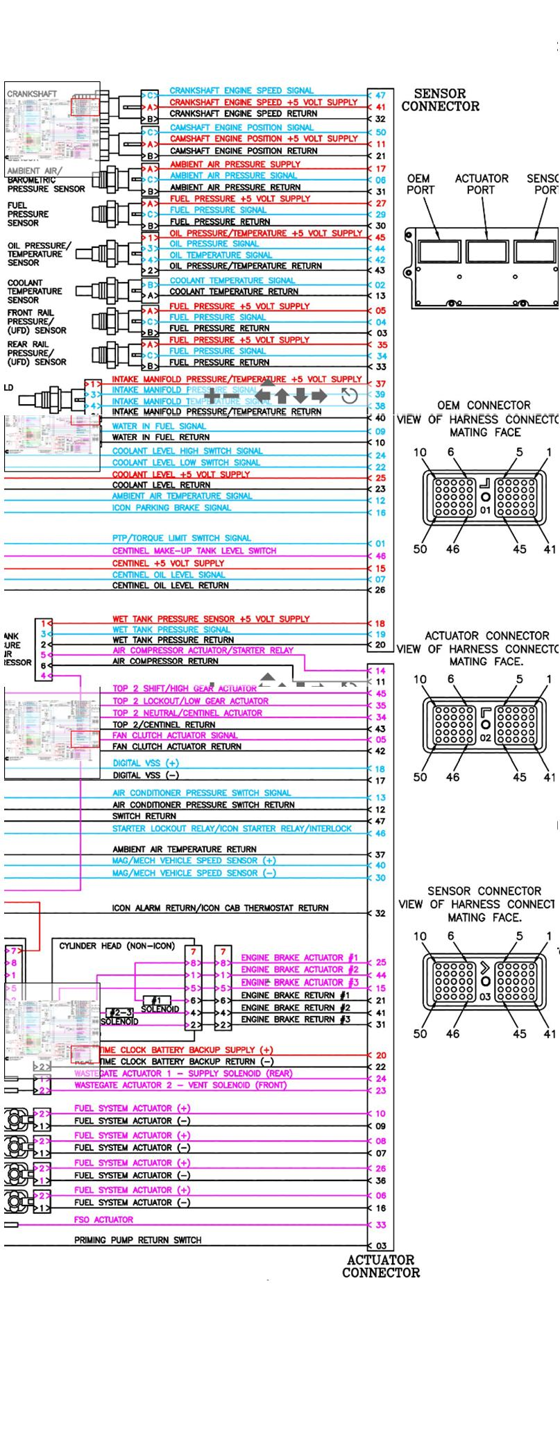 cat ecm pin wiring diagram