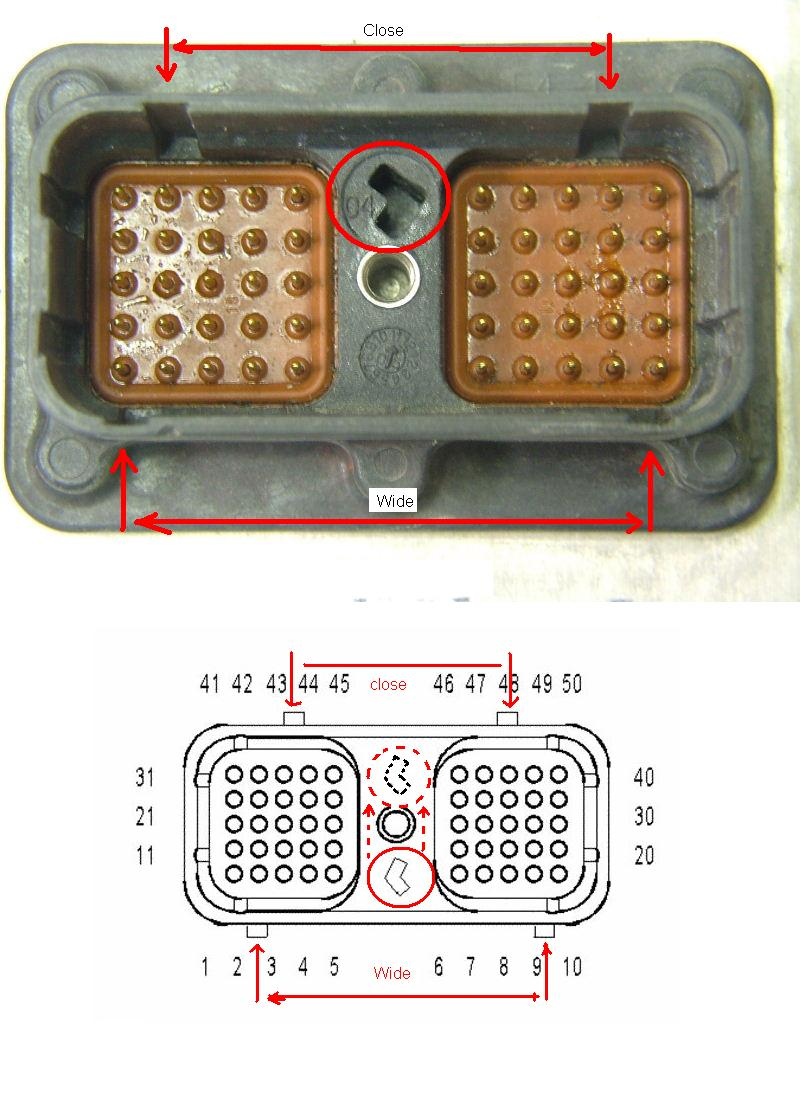 need schematics for cummins isx ecm and diagnostic connector cpl graphic