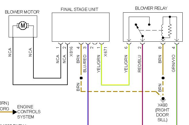Blower Motor Wiring Diagrams Get Free Image About Wiring Diagram