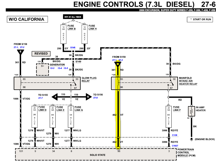 7 3 Fuel Heater Harness Get Free Image About Wiring Diagram