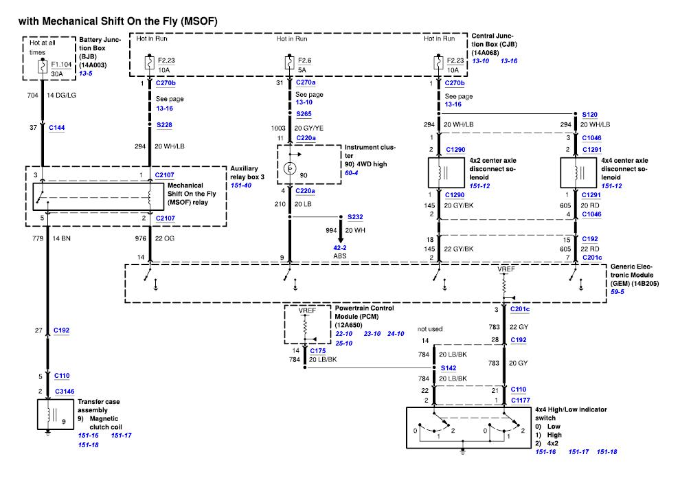 2003 F150 4x4