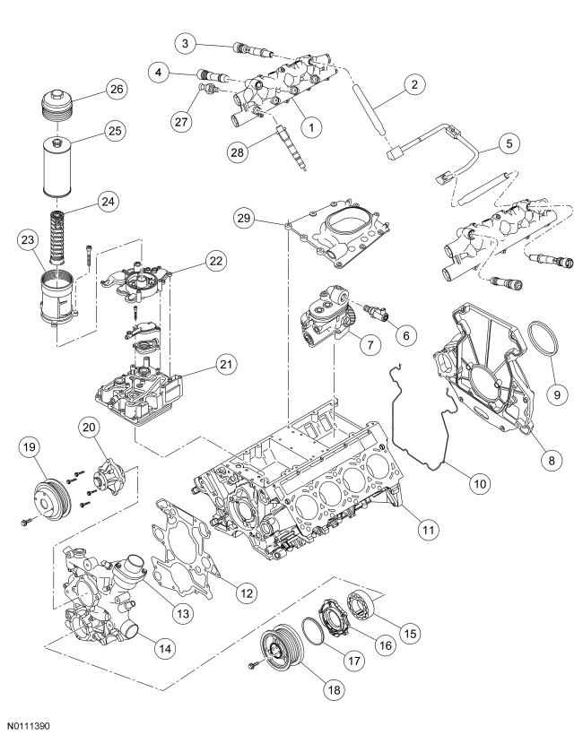 Ford 6 0 Exhaust Back Pressure Sensor Location Ford Auto