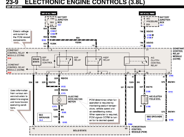 2000 ford mustang ccrm wiring diagram  2000  free engine