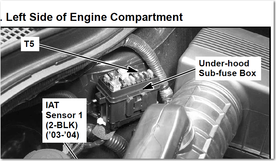 i have a mdx i had to have car jump started and it blew depending on what radio they will be 1 in the sub box or 48 in the under hood fuse box