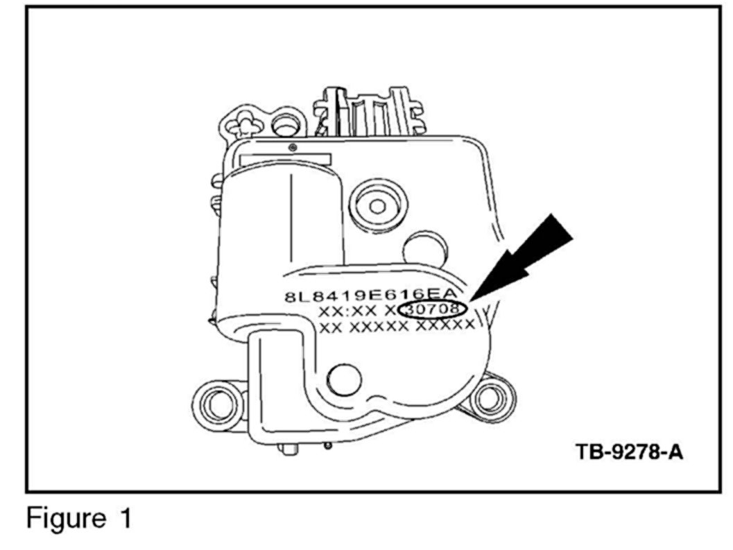 search results ford dual climate control problem blend door actuator html
