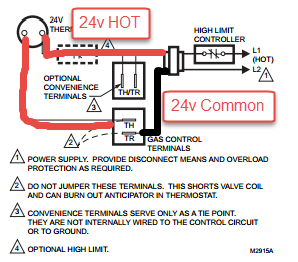 volt gas valve wiring diagram image wiring i m looking for the wiring instructions for a honeywell vr800a on 24 volt gas valve wiring