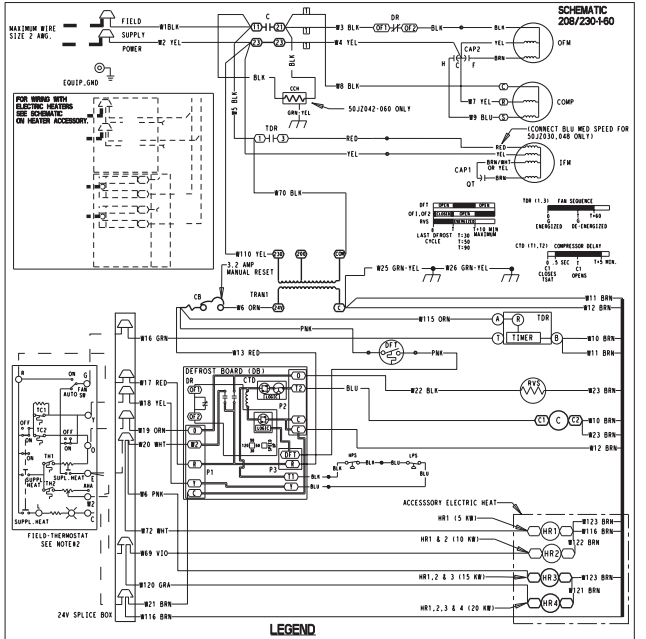 2014 12 22_201140_trane_heat_kit2 wiring diagram for goodman furnace the wiring diagram heat strip wiring diagram at bakdesigns.co