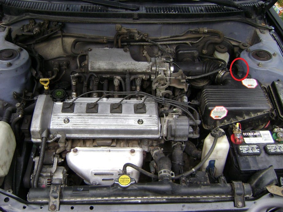 Toyota Corolla Under The Hood Diagram