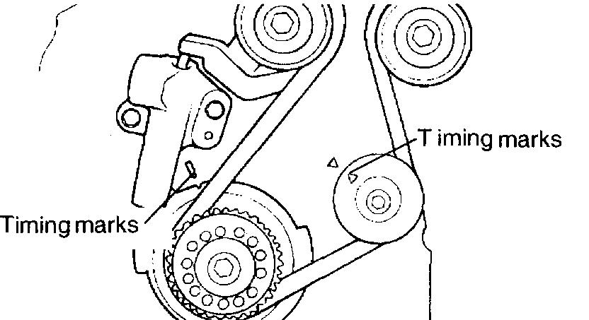 i am going to replace the timing belt on my friends kia