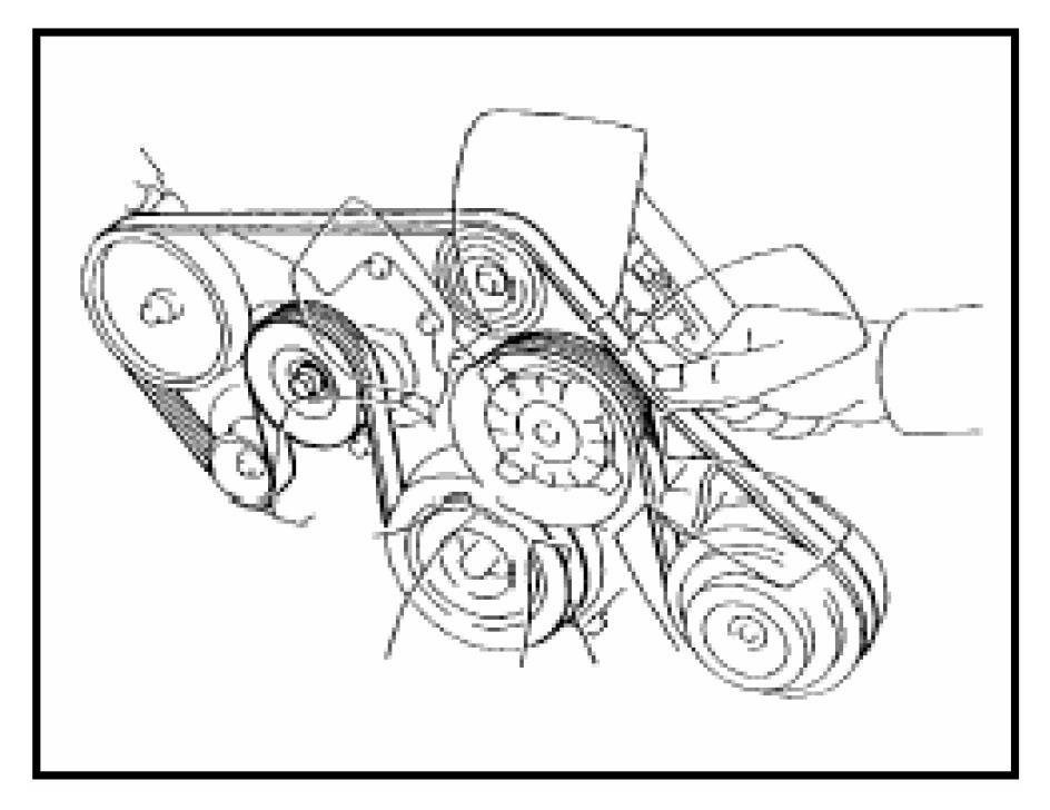 timing belt diagram for 2007 toyota tundra 4 7 engine