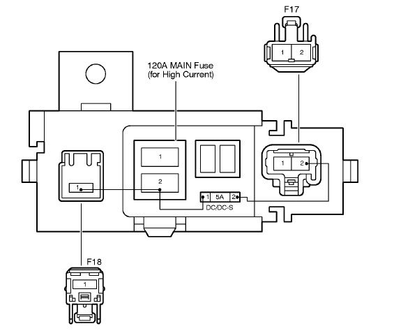 i would like a wiring diagram or a pic of the fuses or relays that are on the battery cable in