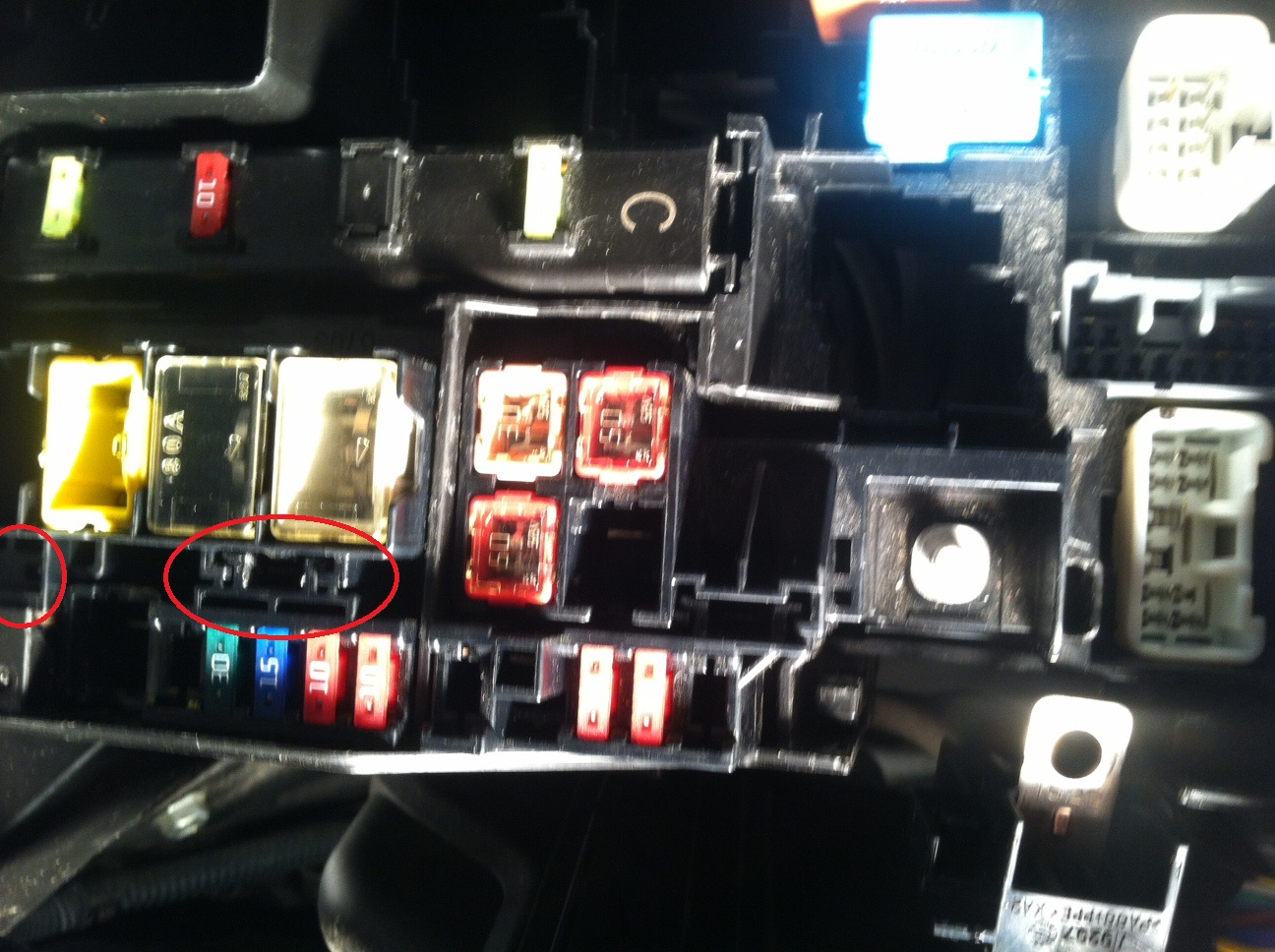 How Do You Replace The Alt Fuse On A 2011 Rav4  It Seems To Be Put Together Differently Than