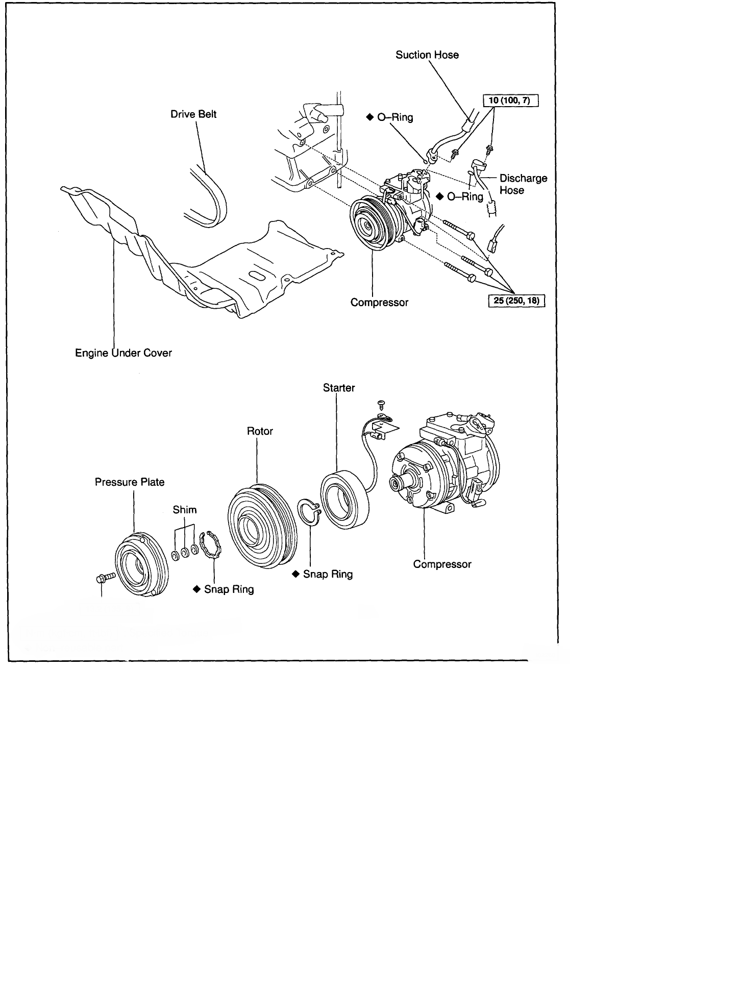 automobile a c compressor wiring diagram a/c issue. the air conditioner in my 2001 corolla has not ... 1994 toyota corolla a c compressor wiring diagram
