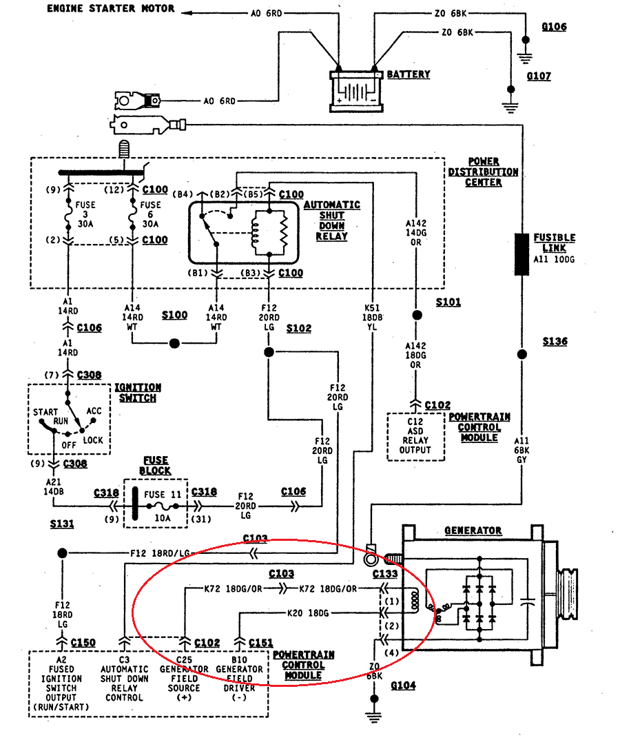 Jeep Yj Engine Wiring Diagram Books Of Diagrams Furthermore Wiper Motor Together With I Am Working On A 1997 Wrangler 2 5 It Is Not 1987