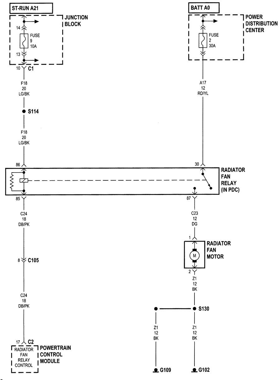 82 celebrity cooling fan relay wiring diagram  82  free