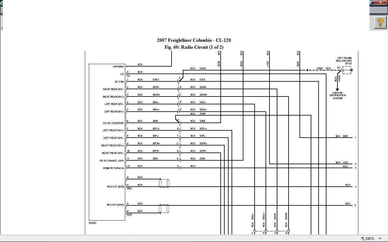 2007 Freightliner Columbia Wiring Diagrams on Business Wiring Diagram