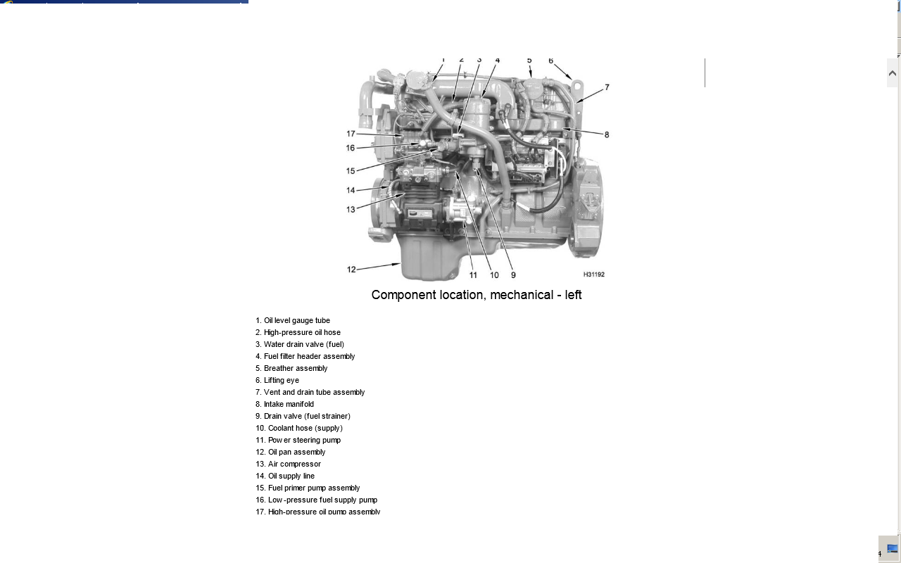 Diagrams Wiring   International Dt466 Oil Pressure Sensor Location