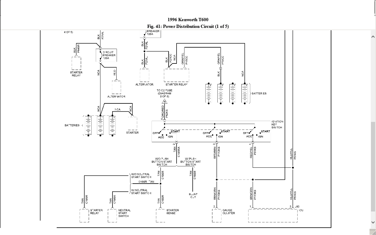 Kw W900b Wiring Diagram