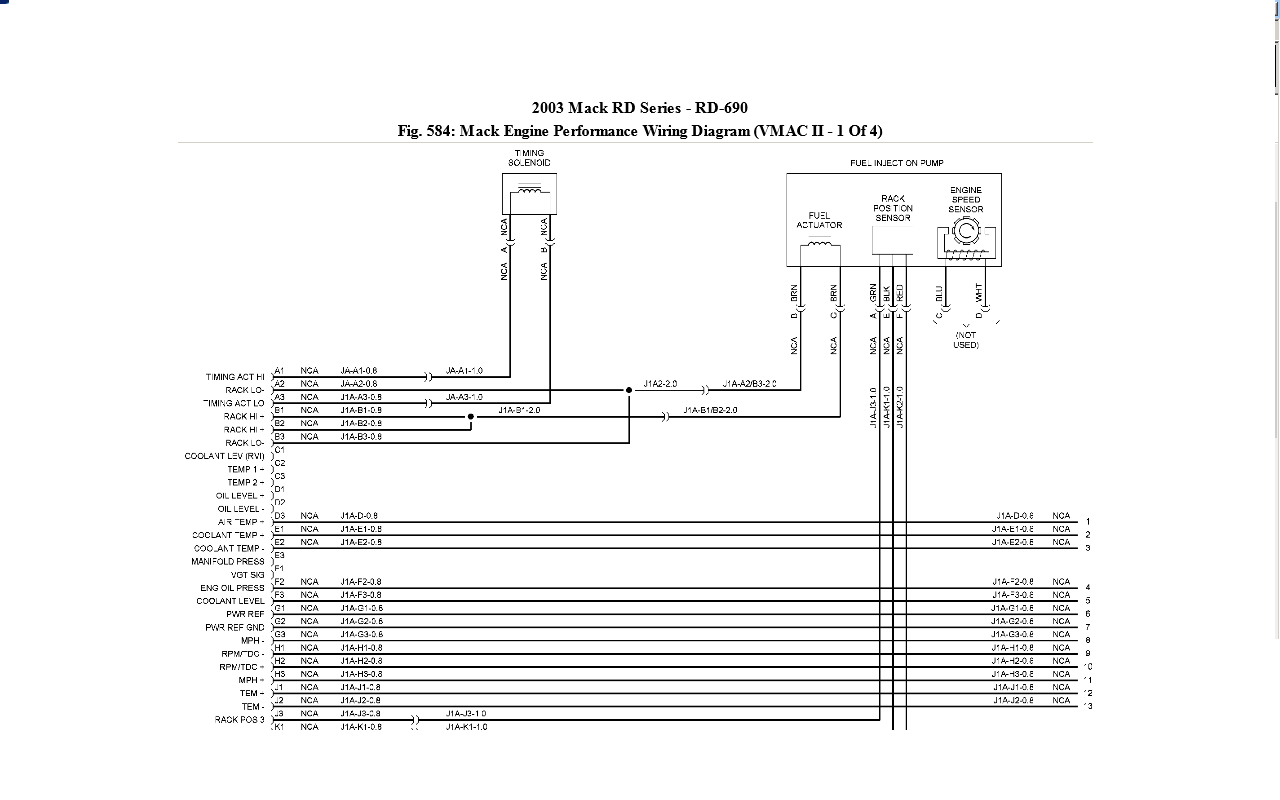 ch613 mack injection wiring diagram ch613 get free image about wiring diagram