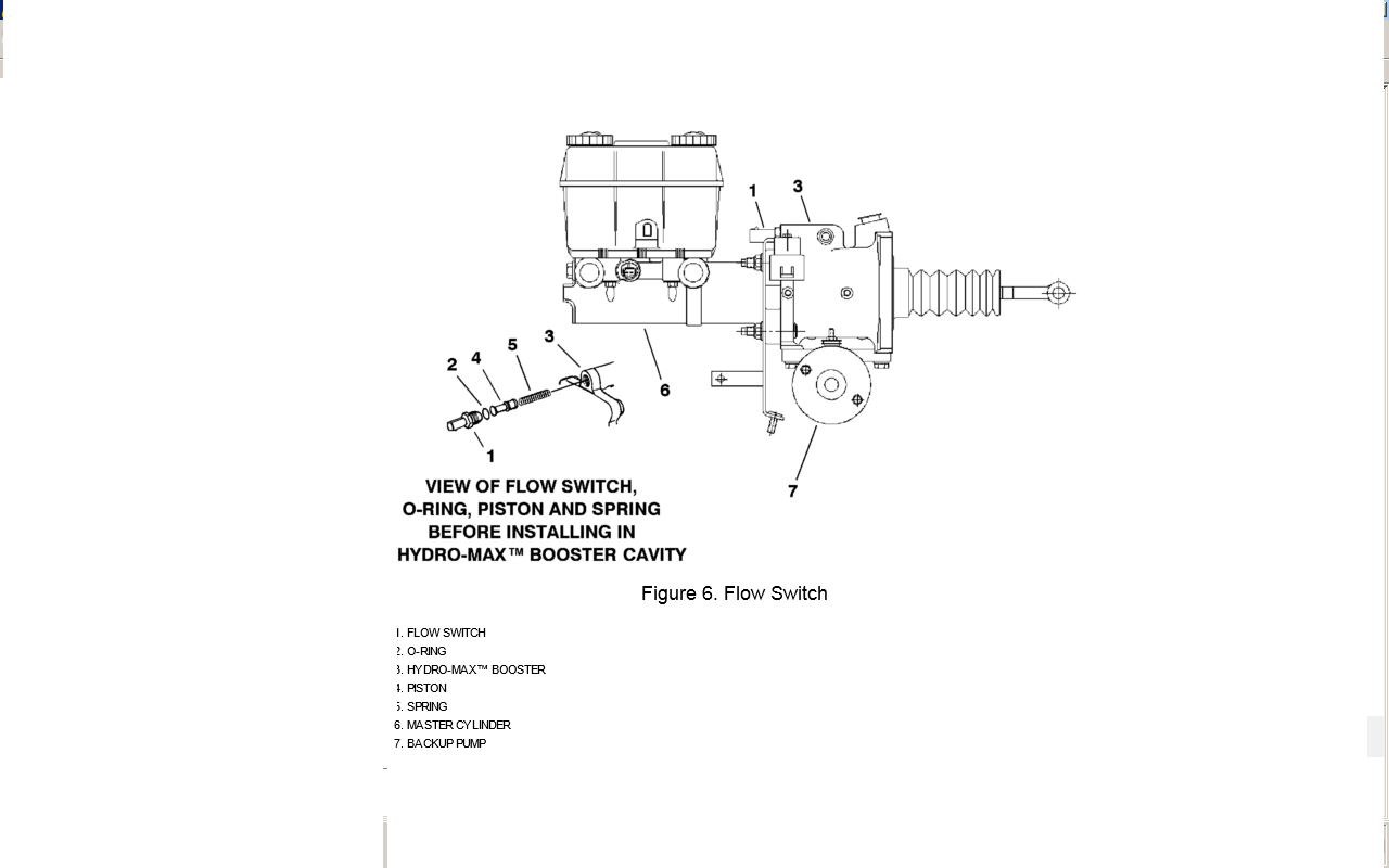 1999 International 3400 T444e  Problem  Electric Motor Sound At Brake Pedal Is Activated At