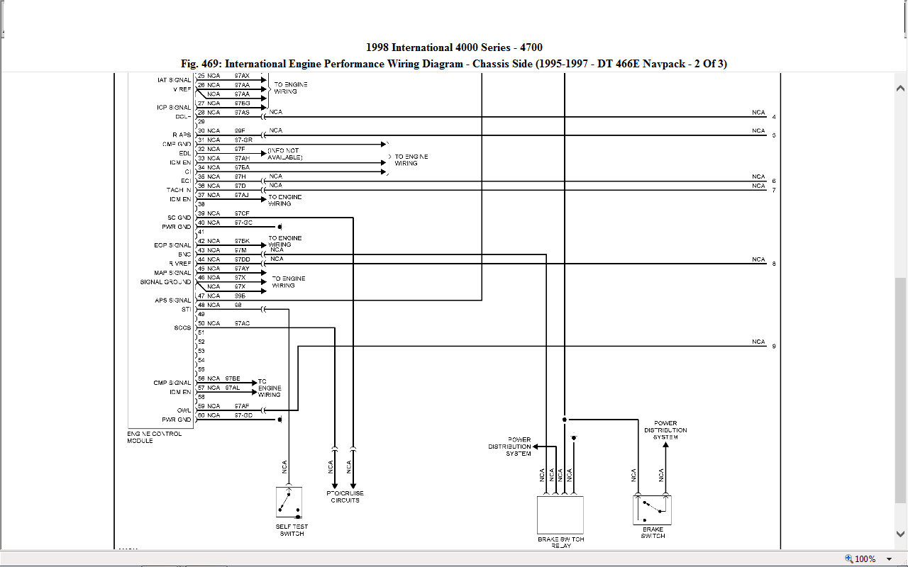 similiar dt engine wiring diagram keywords 07 4300 international dt466 engine wiring diagram