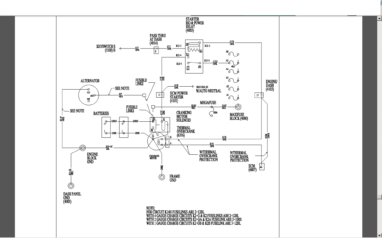 International 4300 Fuse Diagram