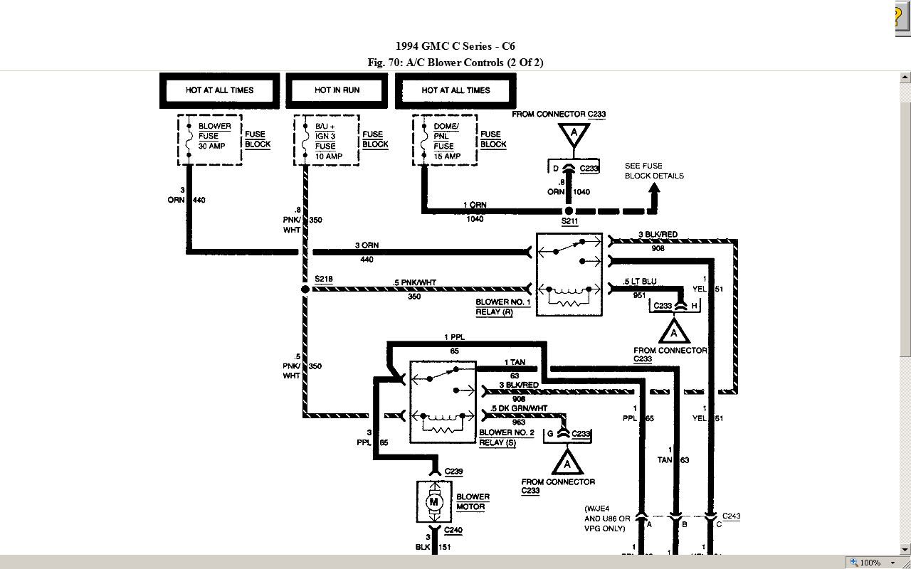 do you have the cab wiring diagram for a 1994 gmc top kick