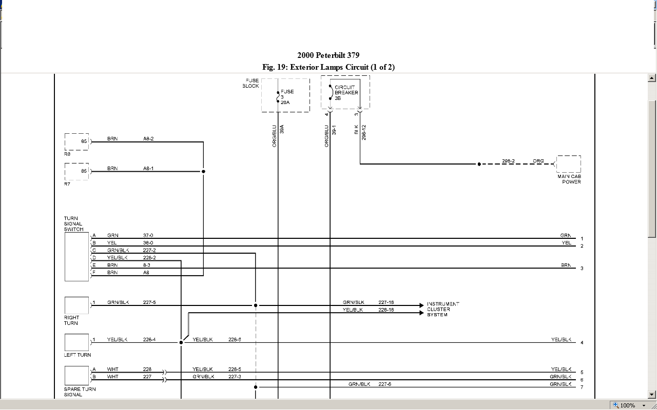peterbilt 379 ke light wiring diagram get free image about wiring diagram