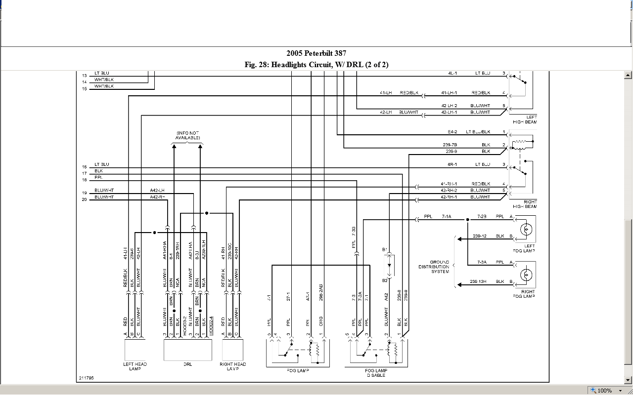 peterbilt 387 wiring diagram free get free image about wiring diagram