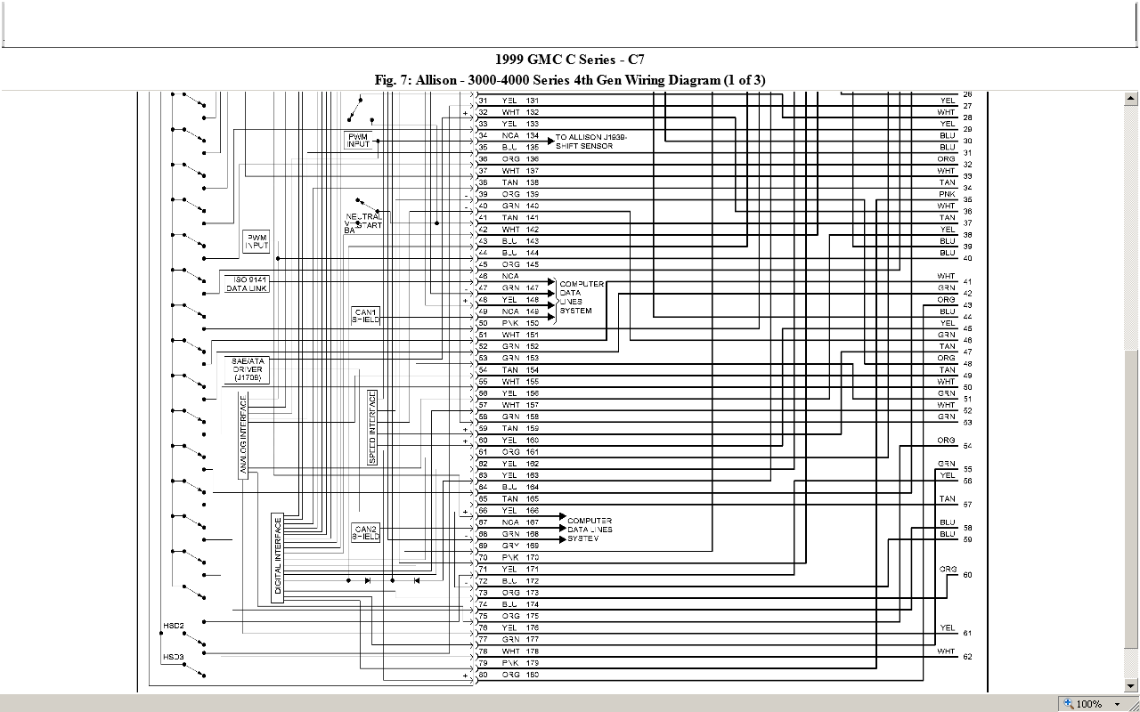 can you help me a wiring diagram for a 1999 chevy c7500 graphic