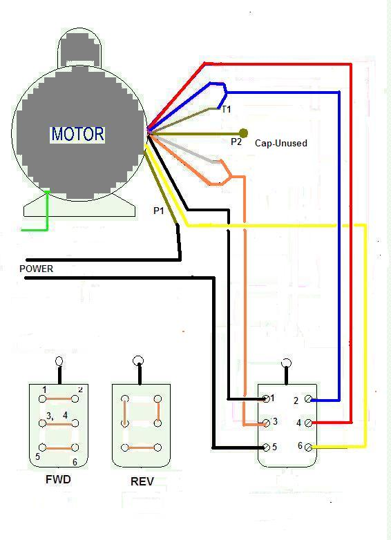 110 Volt Wiring Diagram : Single phase motor wiring diagram get free image