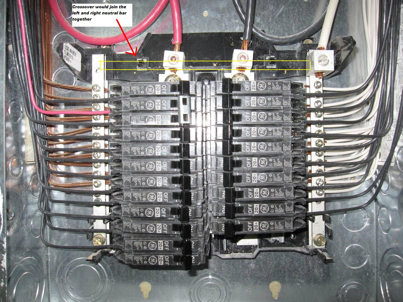i have a ge powermark gold load center tlm1212ccu used as