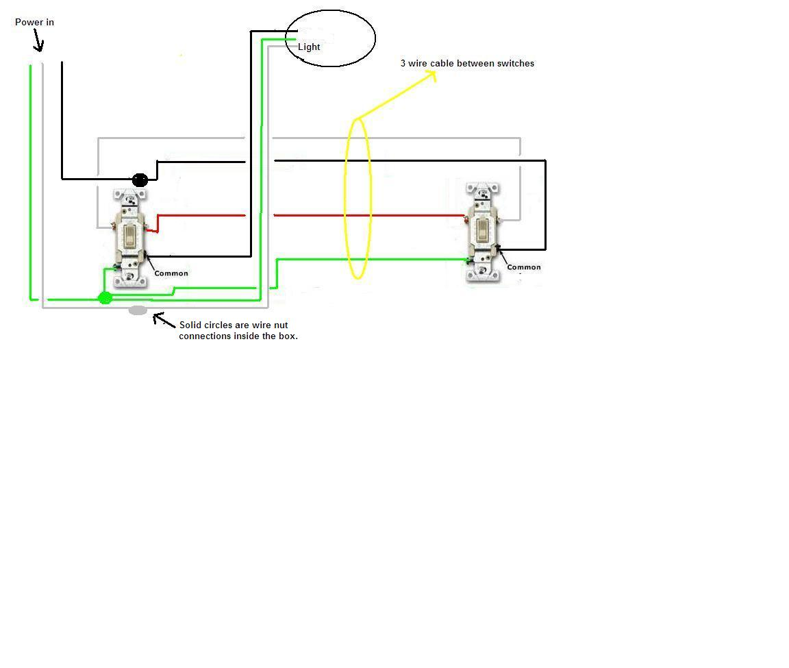 have one light on two 3 way switches adding recessed tig welder power source diagram #6