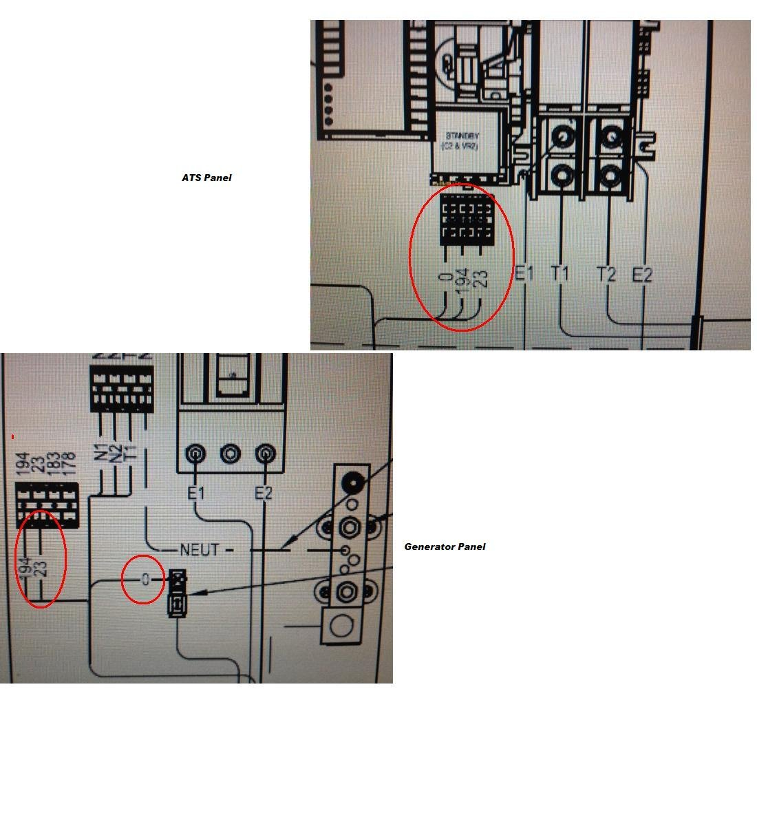 How Connect Wiring Contol From Generator Generac 22kw To