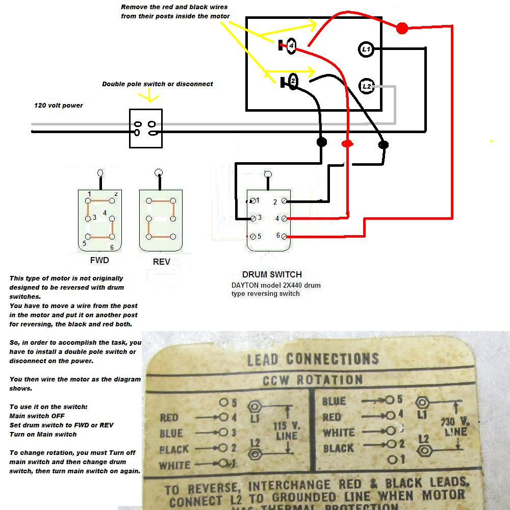 I U0026 39 M Trying To Wire A Westinghouse 1  2hp Motor Into A