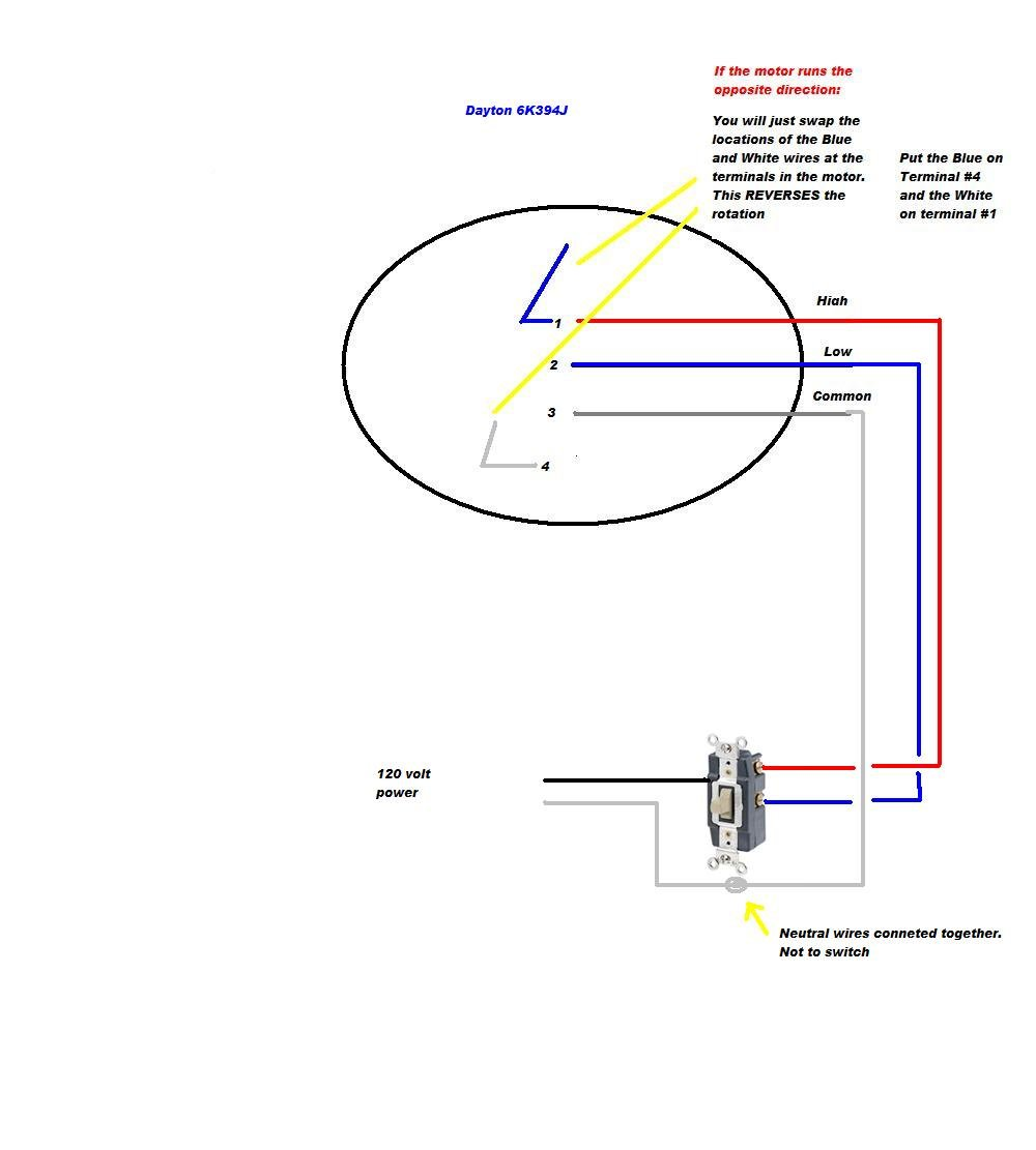 wiring for attic fan graphic
