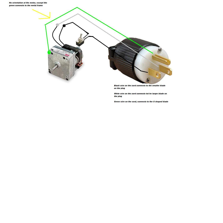 dayton ac parallel shaft gear motor 115v model 2z807 on dayton gear motor wiring diagram