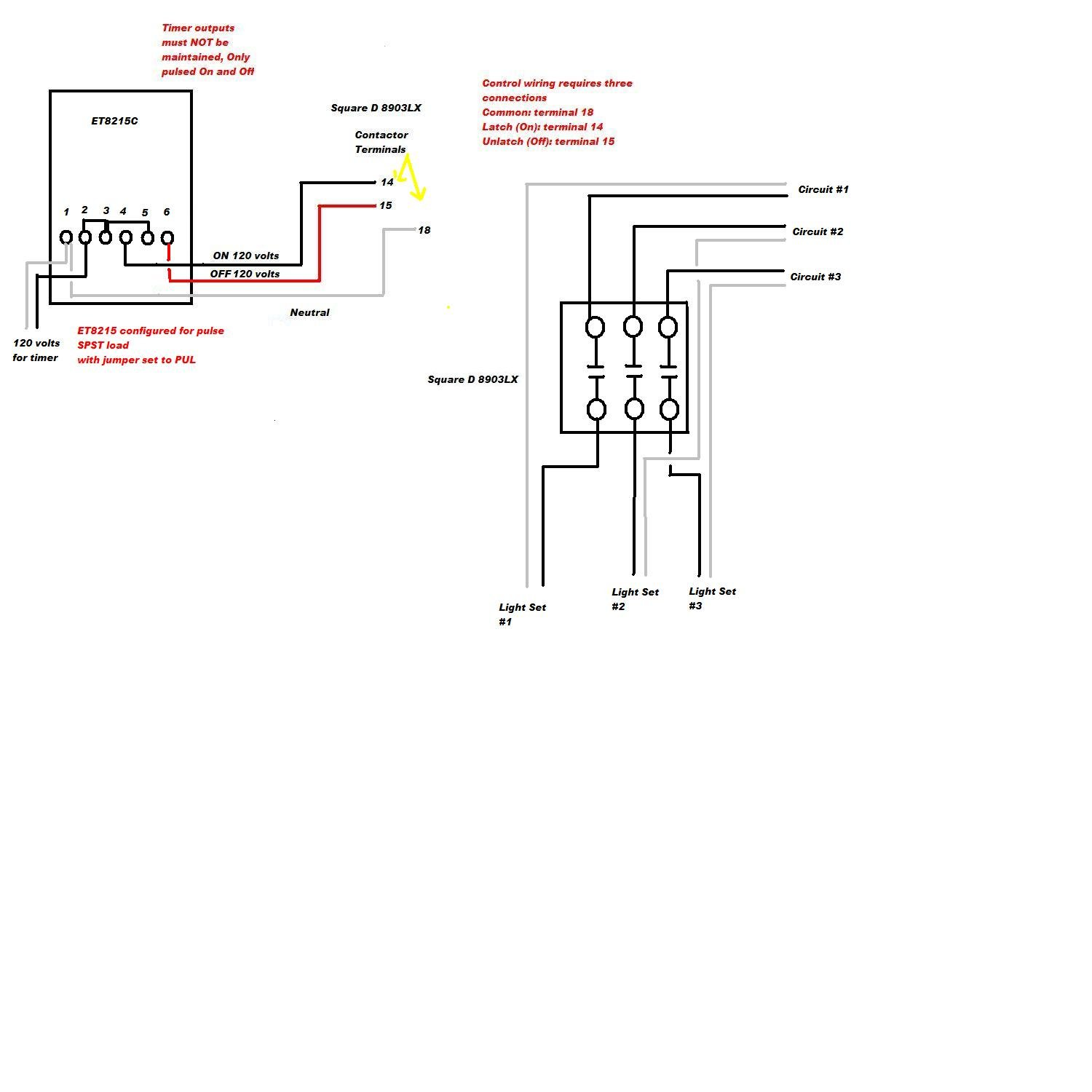 wiring diagram for square d lighting contactors diagram square d lighting contactor wiring diagram xcyyxh com