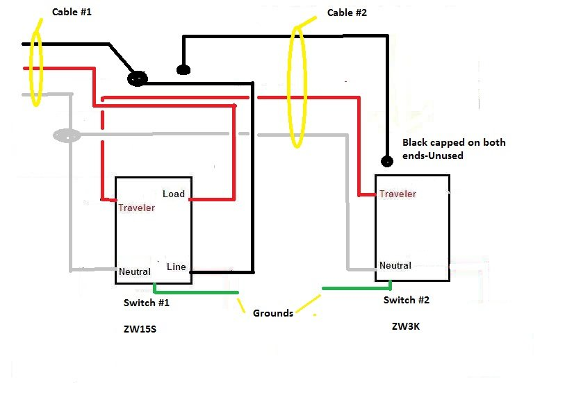 leviton 3 way switch 5603 wiring diagram leviton good afternoon today i m trying to install a 3 way configuration on leviton 3 way switch