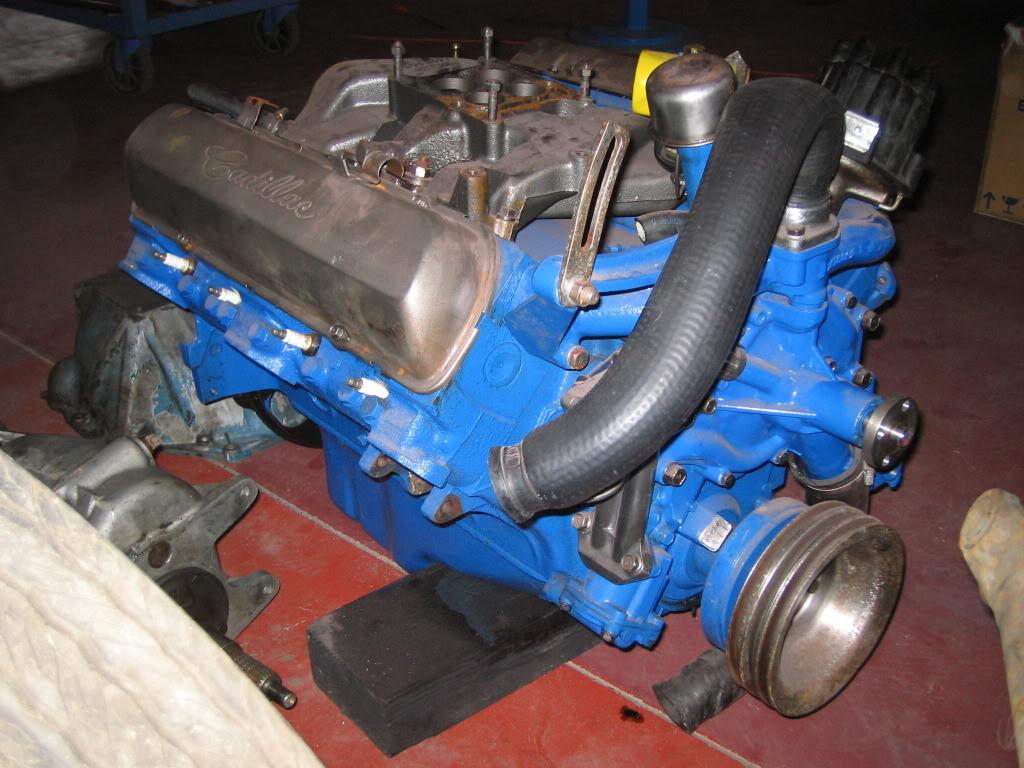 Gm 429 Engine Cadillac