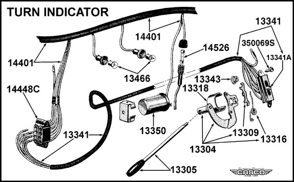 Wiring Diagram For Turn Signal Flasher Wiring Diagram Turn Signal