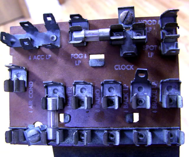 where is the fuse box for a 1955 chevy truck full size image