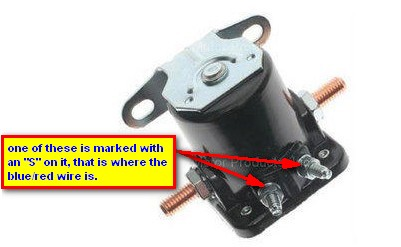 Ford Solenoid Terminal on Ford Mustang Wiring Diagram