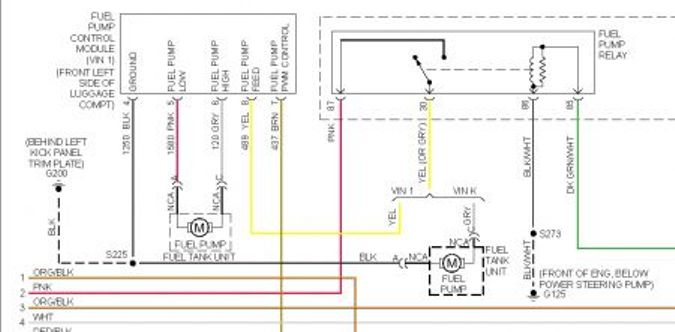 2005 pontiac vibe wiring diagram wirdig fuel pump car wont start many fuses and or relays are