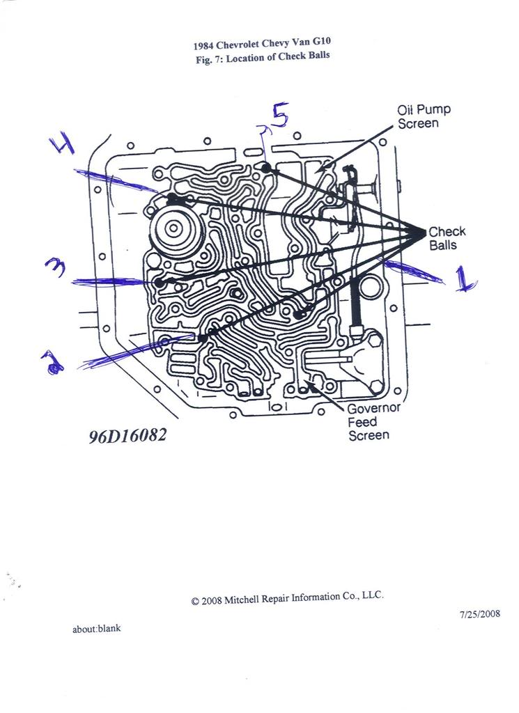 Toyota Transmission Check Ball Location