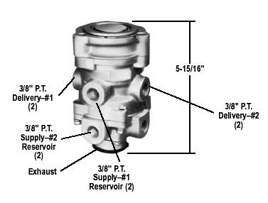 I Change The Foot Valve On A Chevy Dump Truck With Air Brakes After Connecting The Air Lines