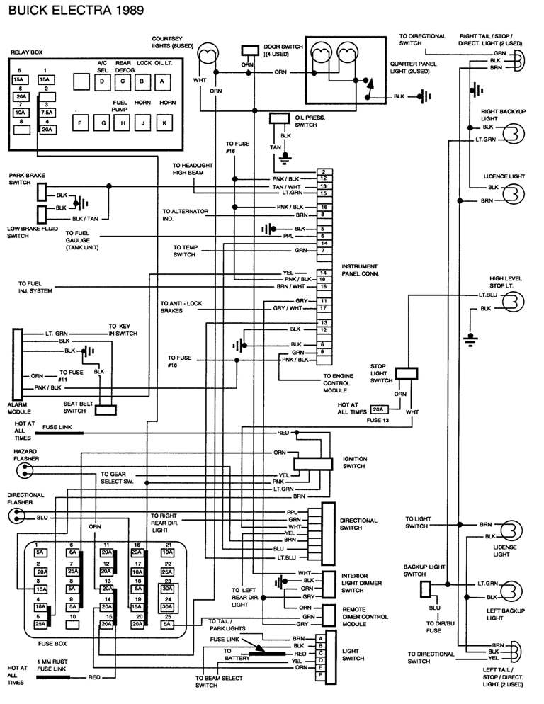 89 3 8 buick ecm wiring diagram